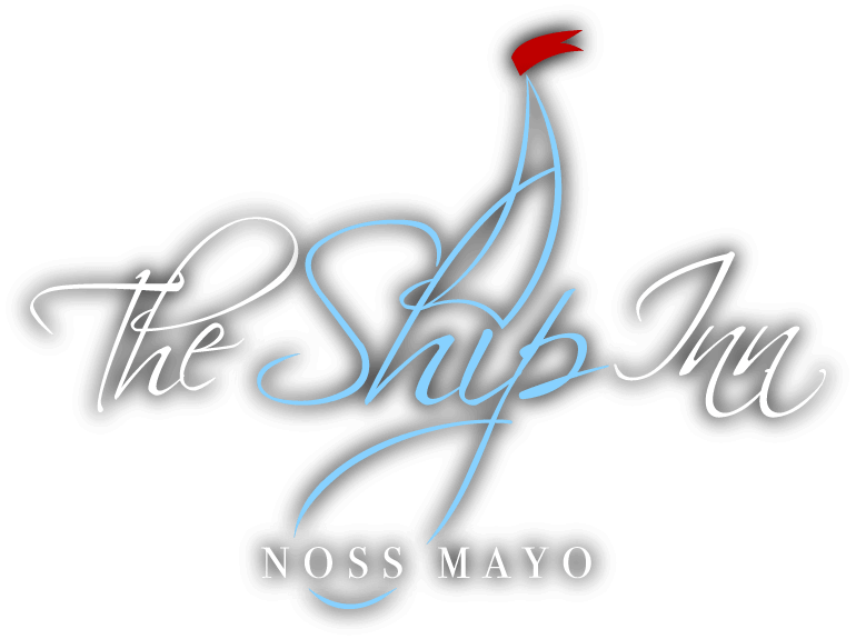 The Ship Inn, Noss Mayo logo